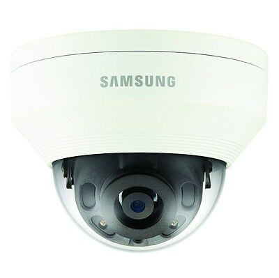 Samsung Qnv-6030R 2Mp Full Hd Outdoor Ir Led 6Mm Poe Cctv Security Dome Camera