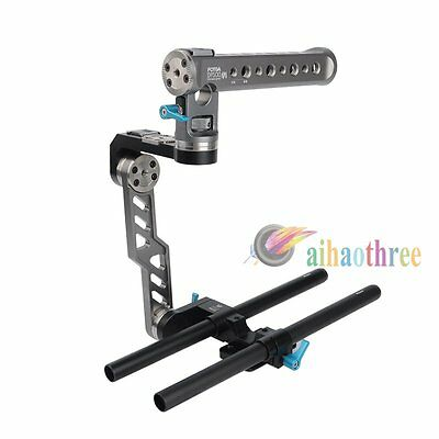 FOTGA DP500III Handheld Top Handle C Cage Front Grip Rig For Camera Follow Focus