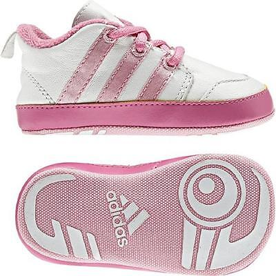 Adidas Essentials Girls Liladi 4 Crib Baby Infants Booties Gift Pink (#5927)