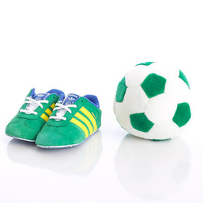 Adidas Originals Baby Infant Boys Gazelle Gift Set Crib Green (#6759)