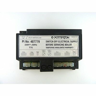 Potterton Kingfisher MF 40RS 50RS 60RS 70RS 80RS 90RS & 100RS Control PCB 900312