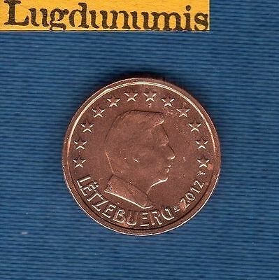Luxembourg 2012 - 2 cents Euro - Coin new roll - Luxembourg