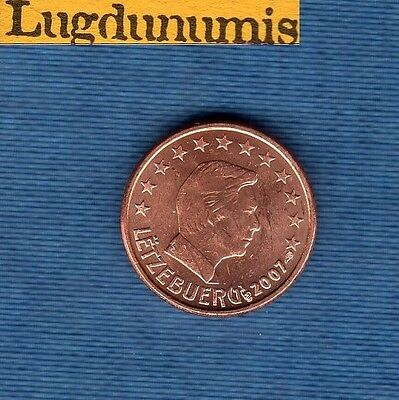 Luxembourg 2007 - 1 penny Euro - Coin new roll - Luxembourg