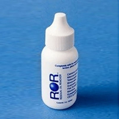 ROR Residual Oil Lens / Optics / Filter Cleaning Fluid 1oz (28ml) Dropper Bottle
