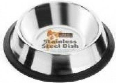 Fed 'n' Watered - Elegant Stainless Steel Non Tip Cat Dish | Small 15cm