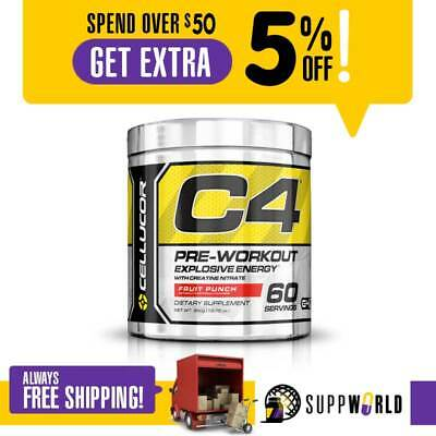 Cellucor C4 - Pre-Workout Explosive Energy Improve Workout -  60 Serves