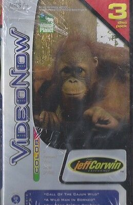 VideoNow Color PVD  The Jeff Corwin Experience ANIMAL PLANET NEW SEALED !!