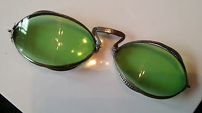 Vintage Italian asso flying goggles motorcycle goggles 1920s 1930s occhiali