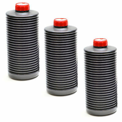 3x AP 1 Litre Collapsible Bottle Photographic Film Developing Chemicals Storage