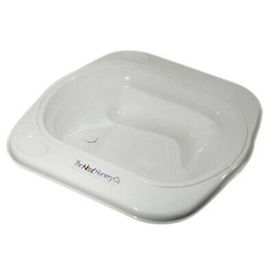 The Neat Nursery Co. Supabath Baby Bath With Soap Dish And Plug White