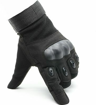 OMGAI Special Full Finger Gloves for Motorcycle Hiking Outdoor Sports Black