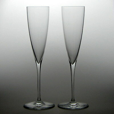 Pair of Baccarat Champagne Flutes