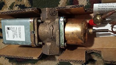 "Johnson Controls V46Ac-1C 3/4"" Ips Pressure Actuated Water Valve (70-260Psi) Nib"