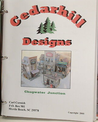 "O On3 On30 CRAFTSMAN CEDAR HILL "" CHUGWATER JUNCTION KIT "" SCENE-UNSTARTED"