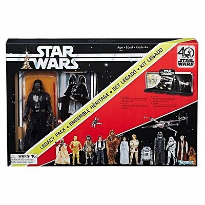 Star Wars Black Series 40th Anniversary Legacy Pack Early Darth Vader - IN STOCK