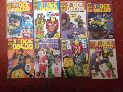 JUDGE DREDD THE NEW LOOK QUALITY COMICS ISSUES 1 - 8 Wagner Dillon