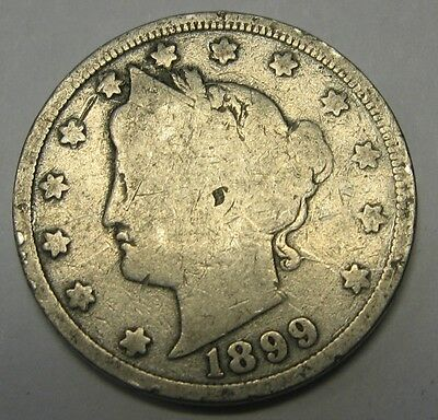 1899 Liberty V Nickel in the GOOD Range A Great Filler Coin DUTCH AUCTION