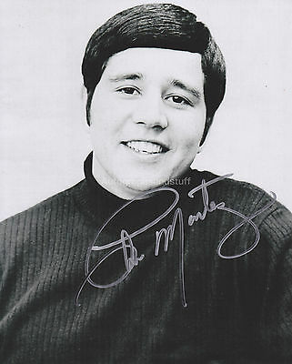 Chris Montez HAND SIGNED 8x10 Photo Autograph, Let's Dance, The More I See You