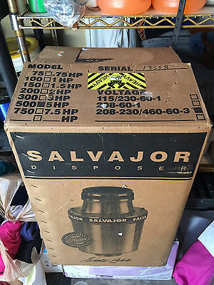 Salvajor Disposal, Disposer New in Box