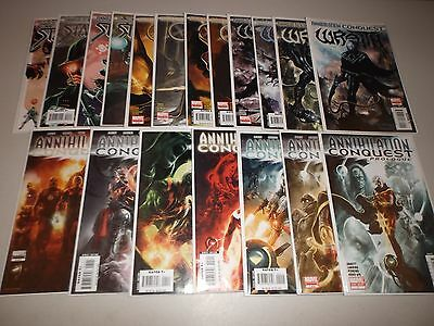 Annihilation Conquest #1-6 + Prologue  and Starlord, Quasar, Wrath 1-4  Lot x 19