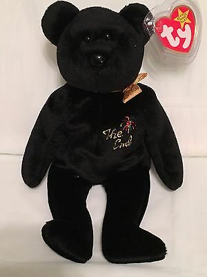 TY Beanie Baby - THE END the Y2K Millennium Bear -Pristine w/ Mint Tags -RETIRED