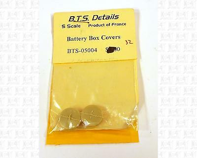 BTS S Parts: Battery Box Covers 5004