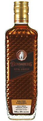 Bundaberg Rum Royal Liqueur Salted Caramel Crystal Cut Bottle