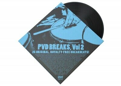 PAT VAN DYKE PVD Breaks Vol. 2 LP NEW VINYL Redefinition drum library kits sampl