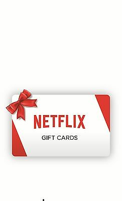 Netflix gift card code 20$ value Immediate code delivery