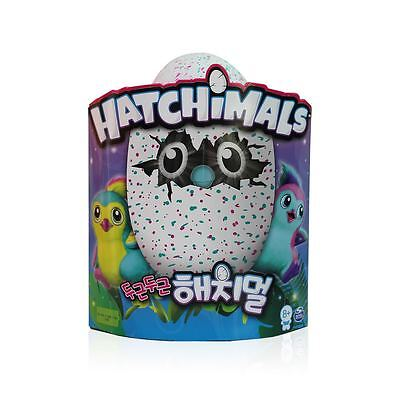 Hatchimals Hatching Egg Penguala Teal/Pink by Spin Master