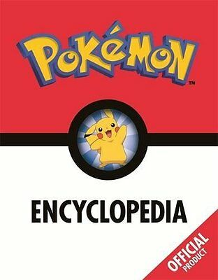 The Pokémon Encyclopedia Official by Pokémon Hardback Book New