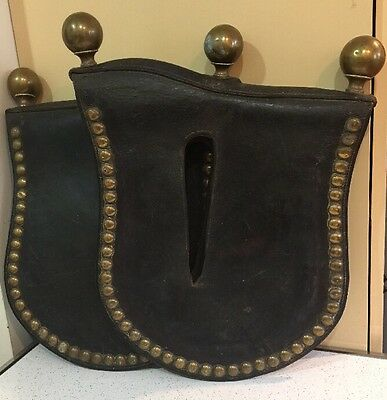 Antique Draft Horse Harness Leather Hames Collar Parade Covers