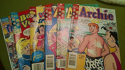 1990's ARCHIE COMICS - 6 of them!