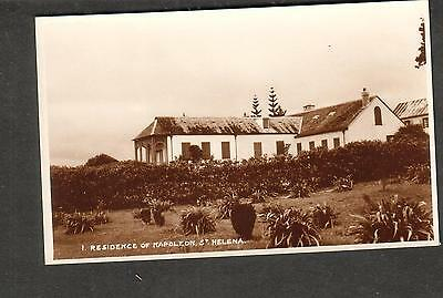 unmailed Judge's Ltd photo post card Residence of Napoleon St Helena Island