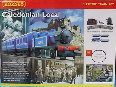 New Empty Hornby R1016 Caledonian Local Class D 0-4-0T Train Set Box Empty Box