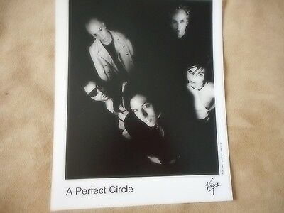 Tool A Perfect Circle Promotional Press Kit Photo Black & White Glossie