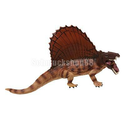 Permian Dimetrodon Dinosaur Dino Animal Figurine Model Collection Toy Gift