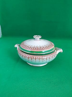 Booths Green / Brown with Gilding Sauce Boat