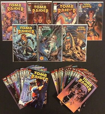 TOMB RAIDER #1 - 30 Comic Books #0 #1/2 +DF Exclusive Variants LARA CROFT Image