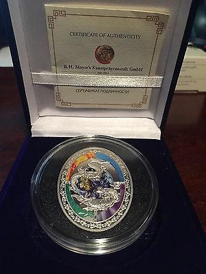 2012 Niue $1 Year Of The Dragon Silver Coin