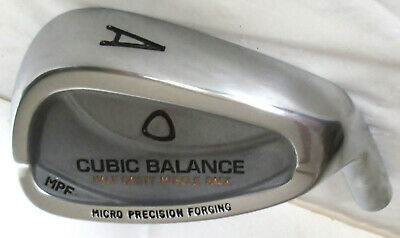 Cubic Balance Micro Precision Forging Half Cavity Muscle Back A Wedge Golf Head