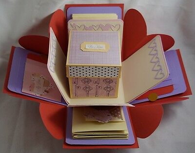 For Lovers Cherished Moments Album Exploding Gift Box - Explosion Gift Box