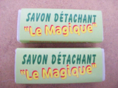 Lot   De   2   Savons   Detachant      Le   Magique   Bio