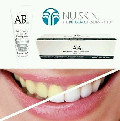 Nuskin AP-24® Whitening Flouride Toothpaste All Natural and Family Friendly New!