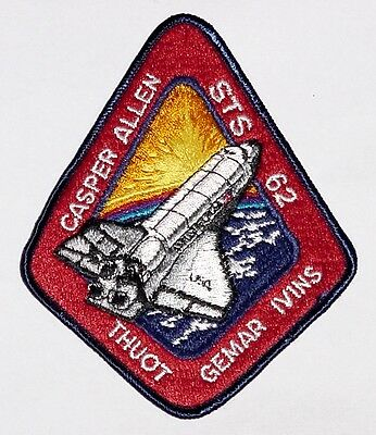Aufnäher Patch Raumfahrt NASA STS-62 Space Shuttle Columbia ..........A3134