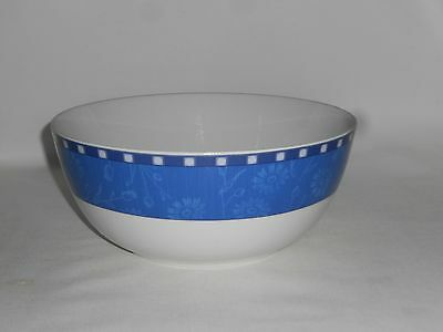 """Wedgwood Meridian Pattern Salad Bowl (9¾"""" Diameter) - Excellent Condition"""