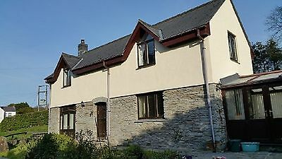 2 Bedroomed House, Barn, 4 Stables, Paddock & Woodland 3.5 acres Pembrokeshire