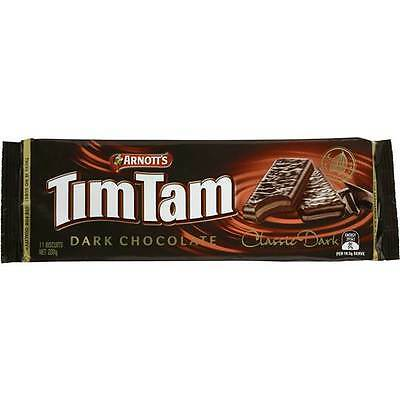Arnotts Tim Tam  2 X 200 gm packets Arnott's Tim Tam Classic Dark