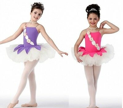 In The Garden Ballet Tutu ROSE or LILAC Ballerina Dance Costume Child & Adult