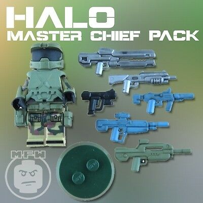 Halo Master Chief LEGO compatible Minifigure Pack